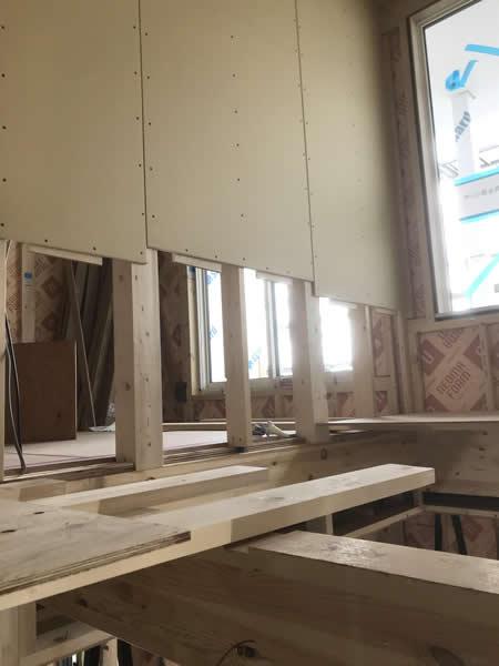 造作棚・床張り工事