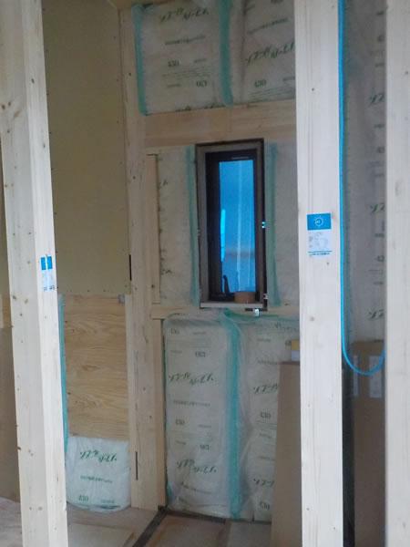 外壁グラスウール断熱材