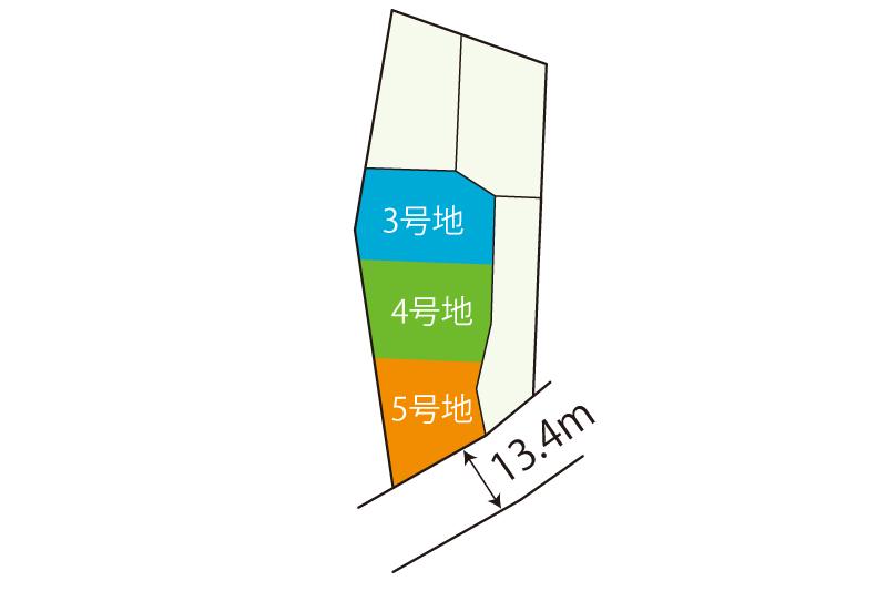 裾野市茶畑区画図