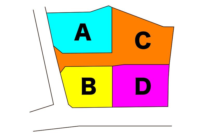 三島市徳倉区画図
