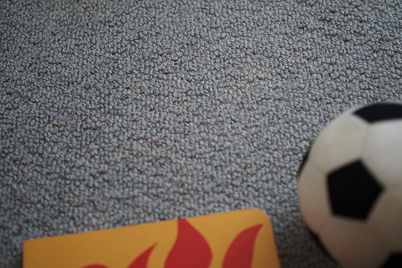 コロコロしても気持ちいいカーペット素材