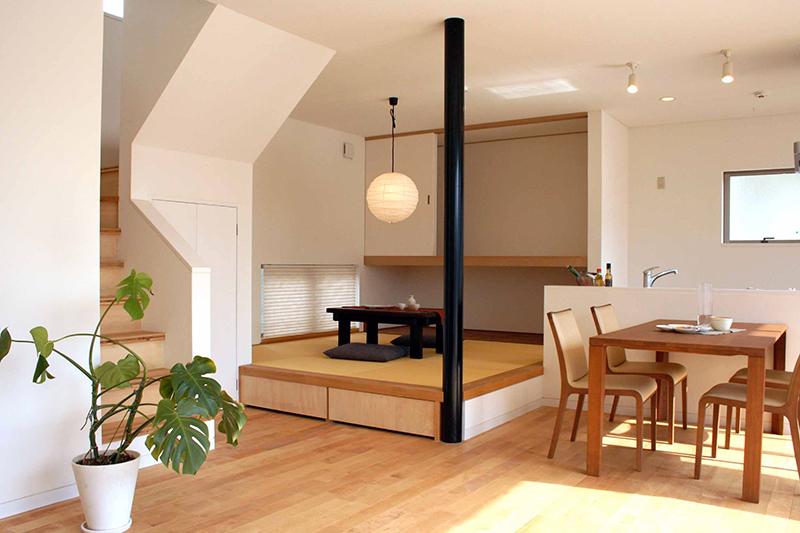 和室に琉球畳