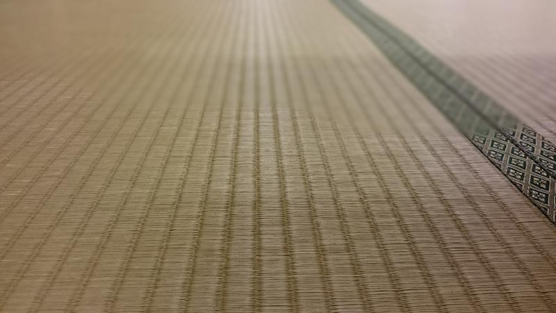 有機栽培のい草の畳